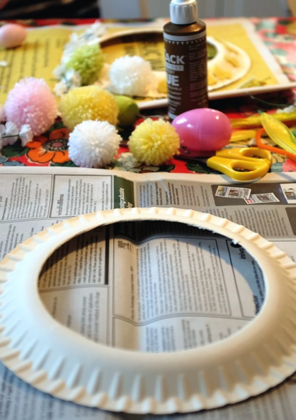Children's crafts: Make your own Easter garland