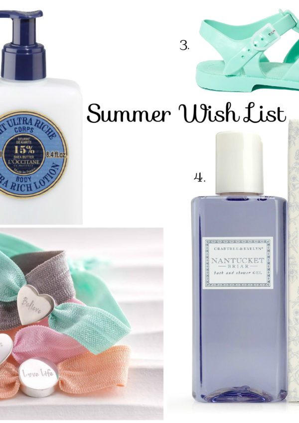 A little summer wish list