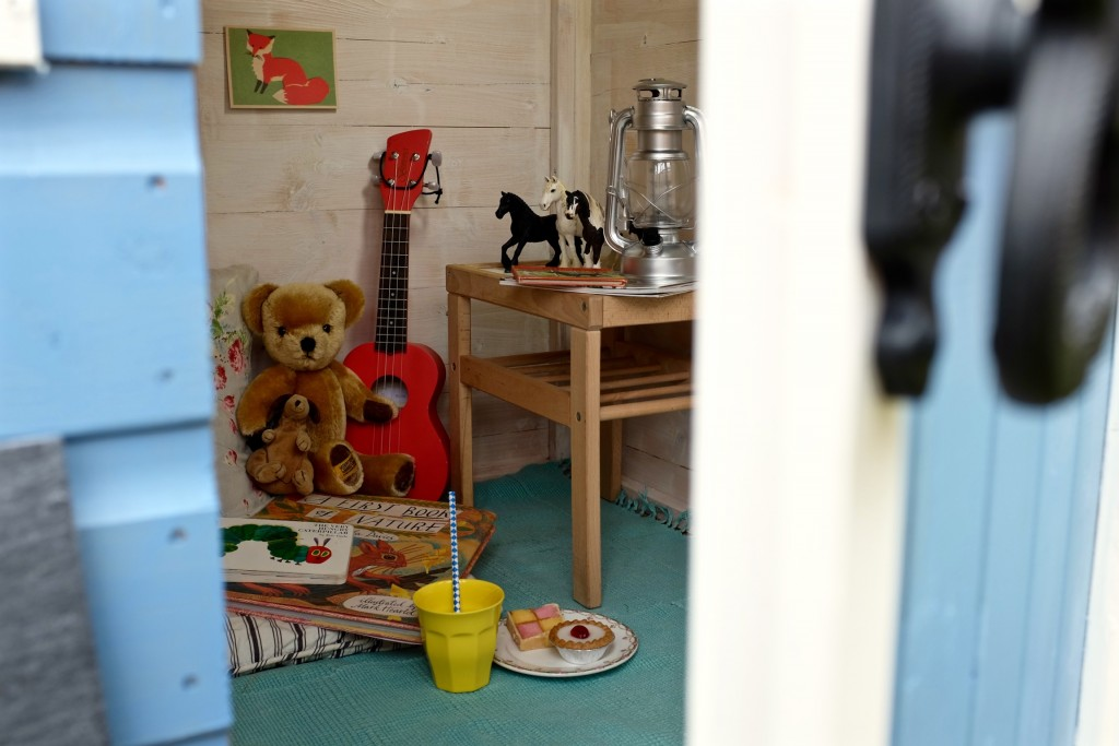 Children's playhouse interior