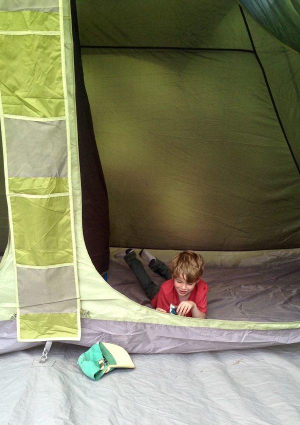 A mini camping adventure…