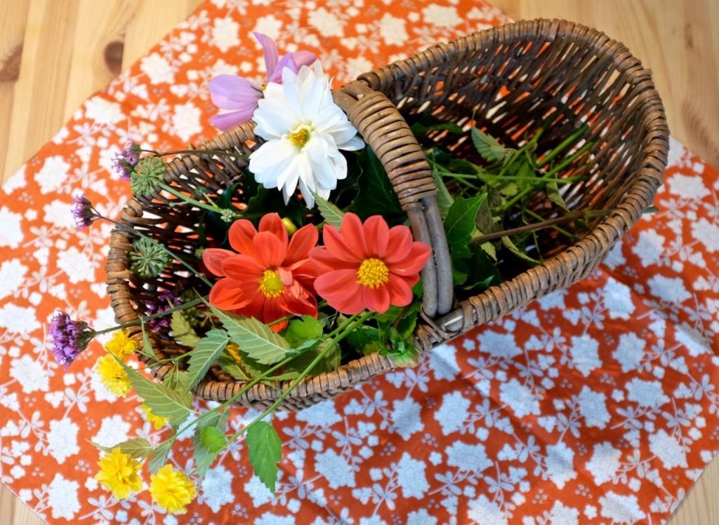 Autumn Flower arranging