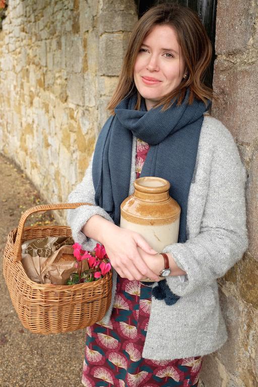 Ely market finds in a basket