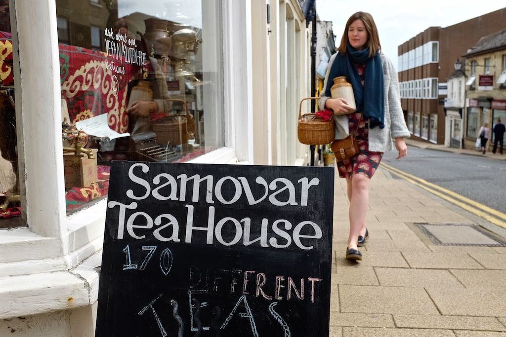 Samovar Tea House, Ely