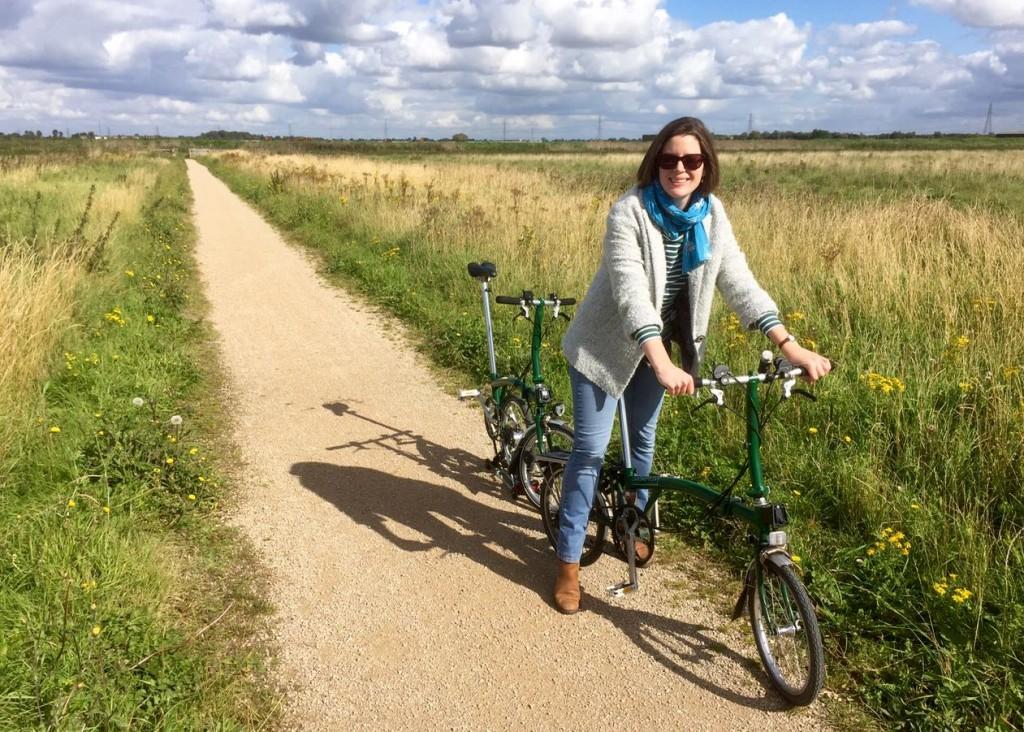 Bike ride at Wicken Fen