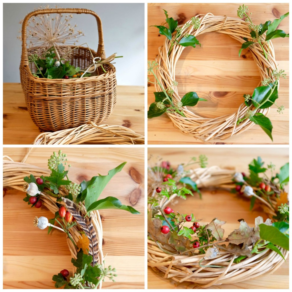 Make an Autumnal wreath