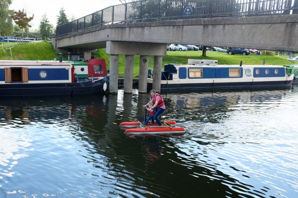 Nautical cycles on Ely river