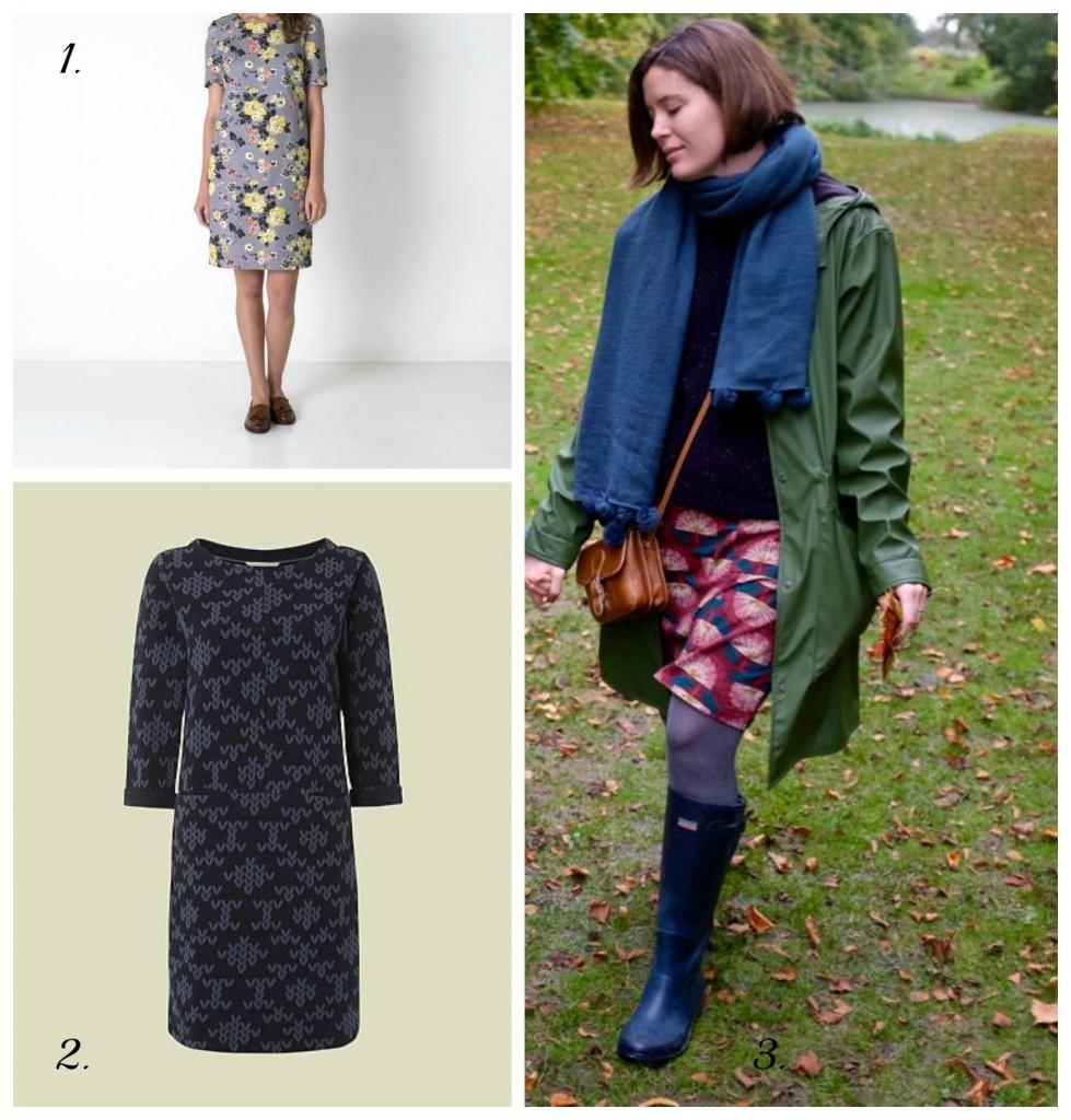 Autumn Dress collage