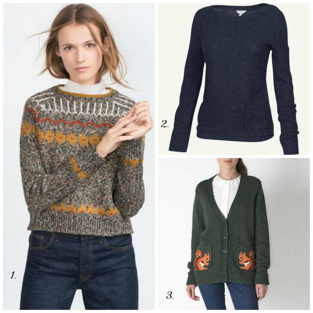 Autumn knits