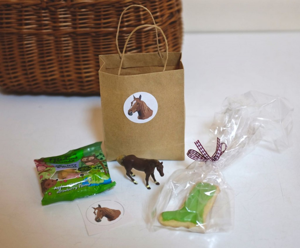 Pony party party / treat bags