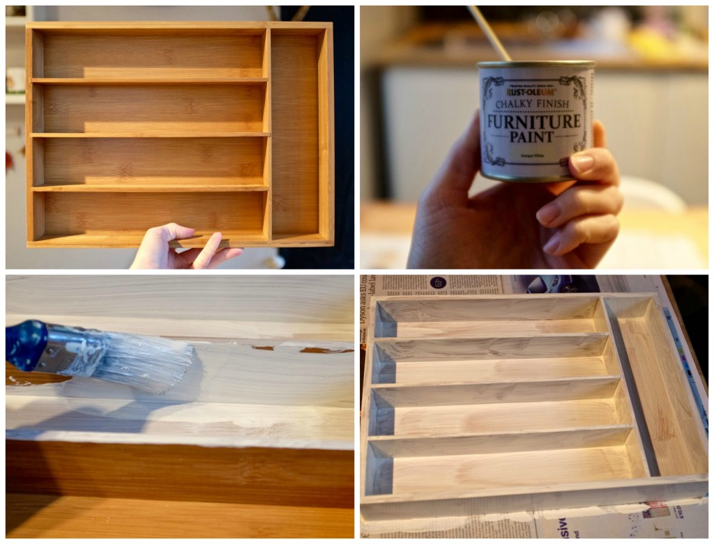 How to make a cutlery tray shelf DIY