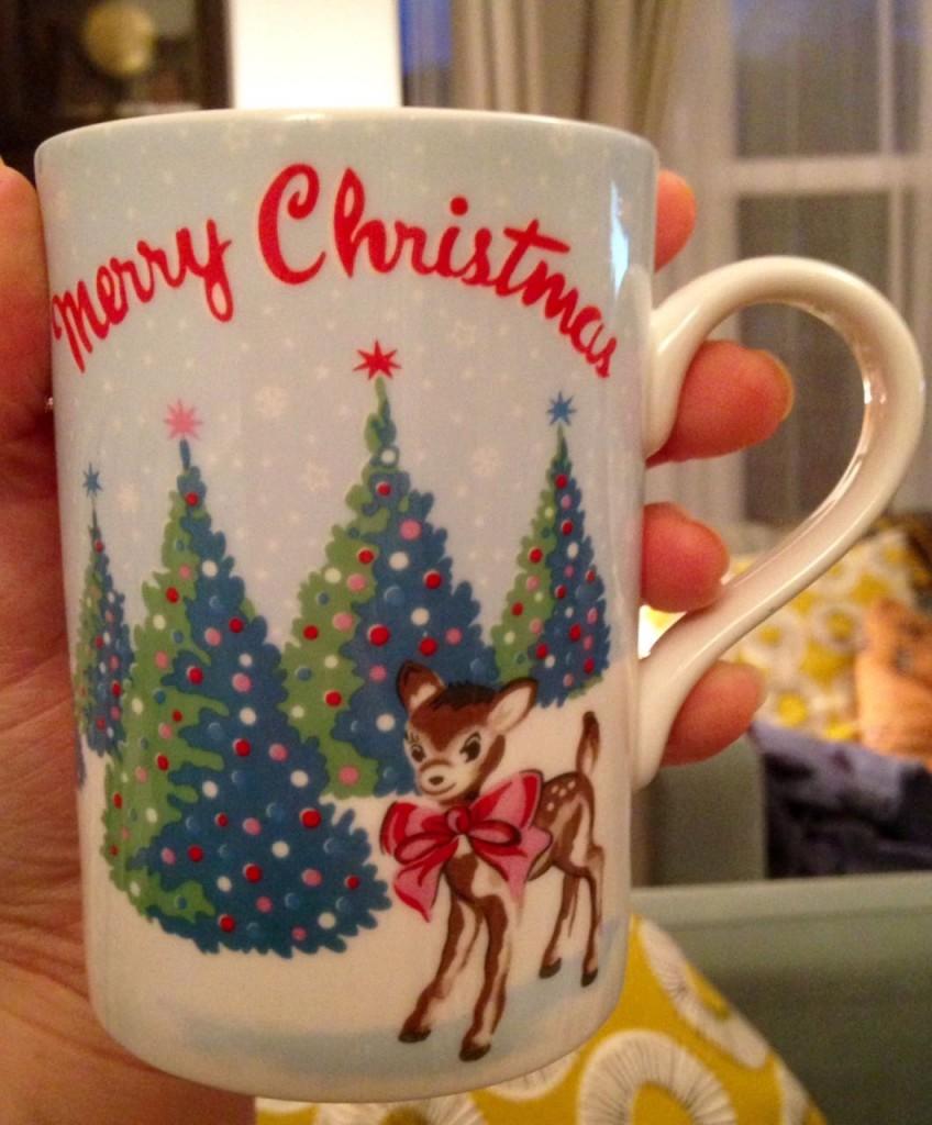 Cath Kidston Christmas mug