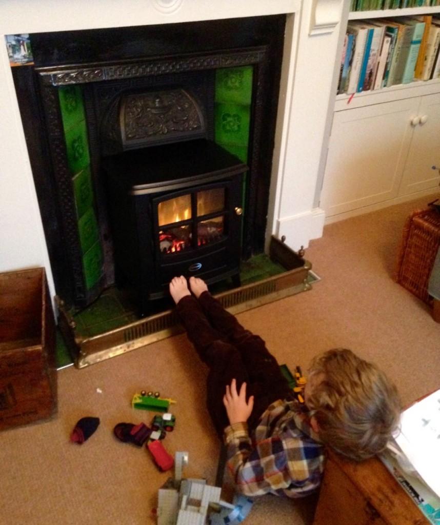 Electric Woodburner