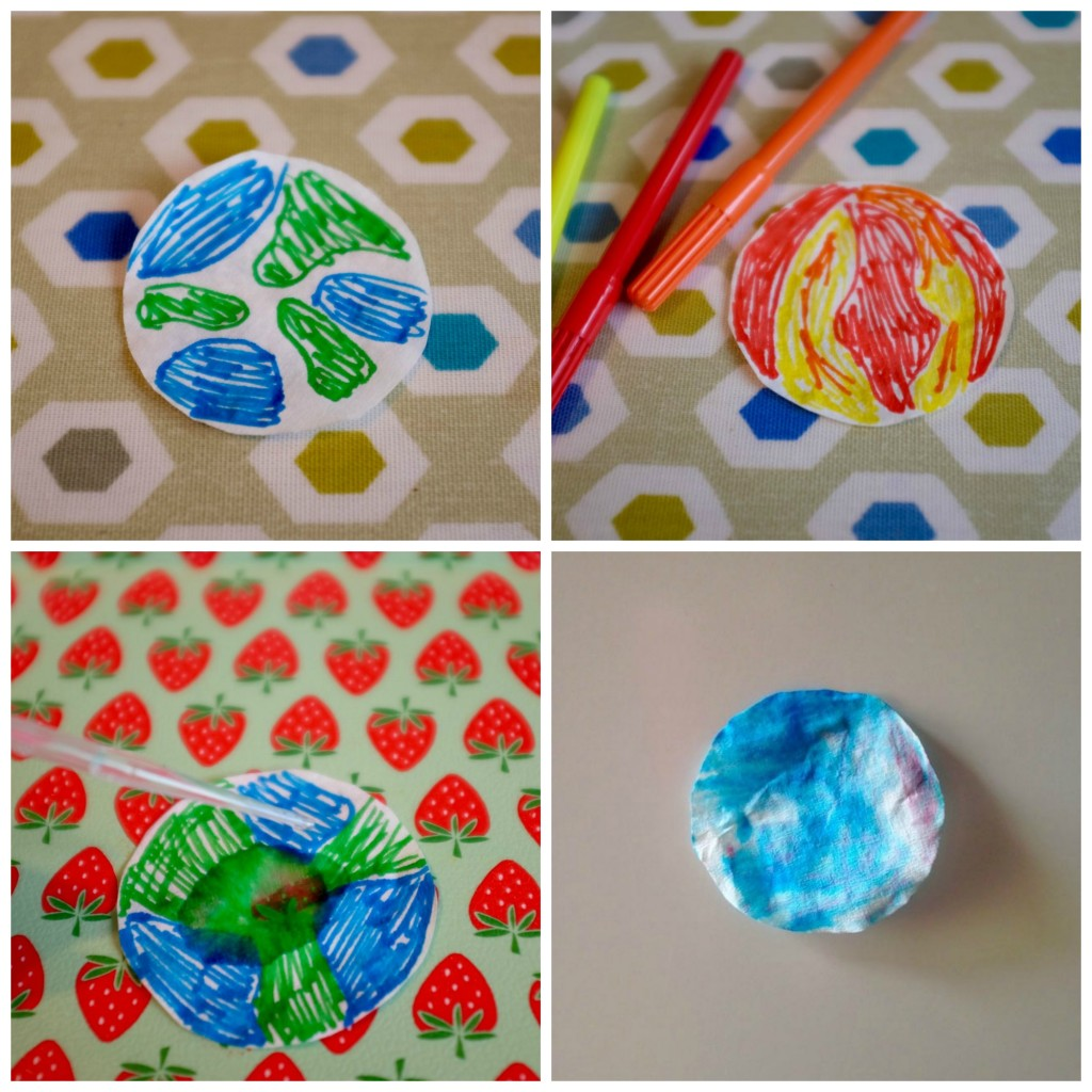 Chromatography planets craft