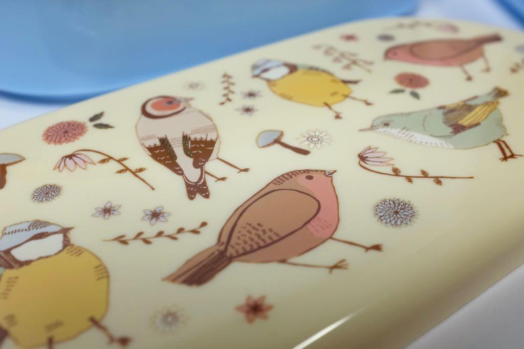 Bird bento lunch box