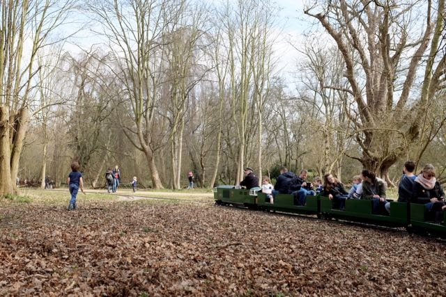 Miniature railway at Belton House
