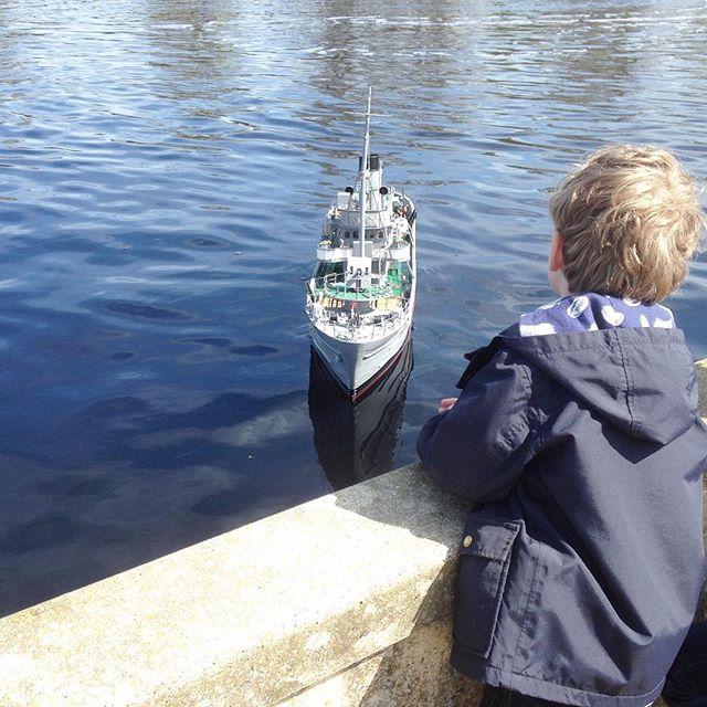 Eaton park boating lake