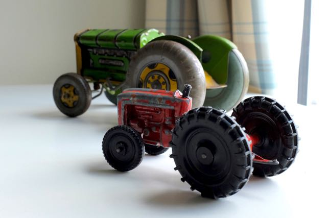Vintage tractor toys