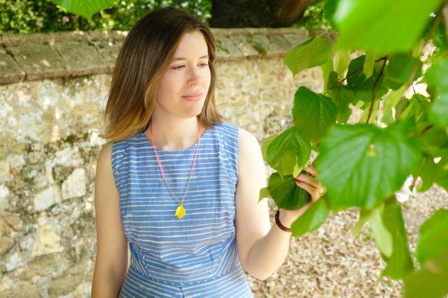 Marmalade Pie stripy summer dresses and lemon necklace