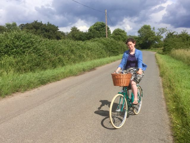 Pashley sonnet on a country bike ride