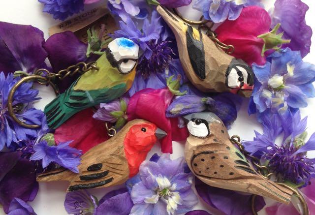 Perfect presents ideas for teachers, bird keyring