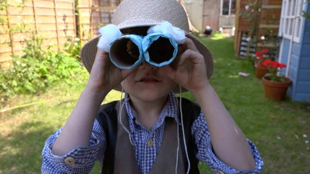 Cloud binoculars craft