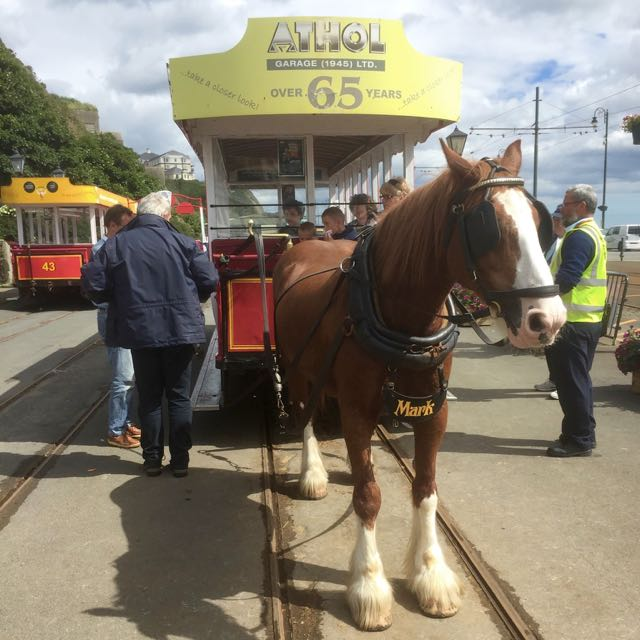 Isle of Man horse drawn tram