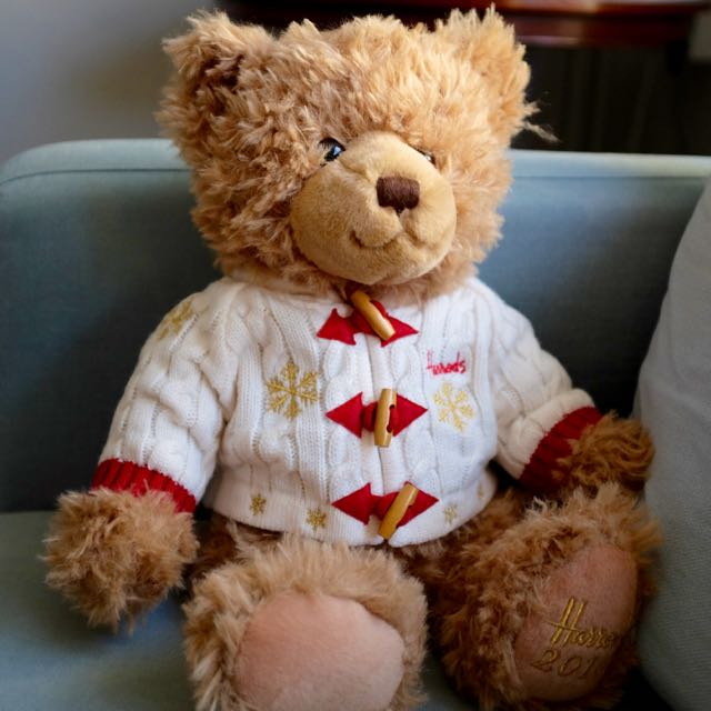 Hugh the 2016 Harrods bear