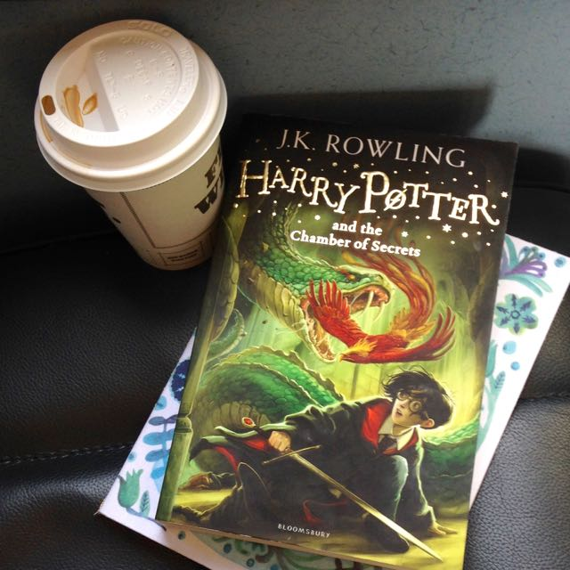 Reading Harry Potter in my thirties