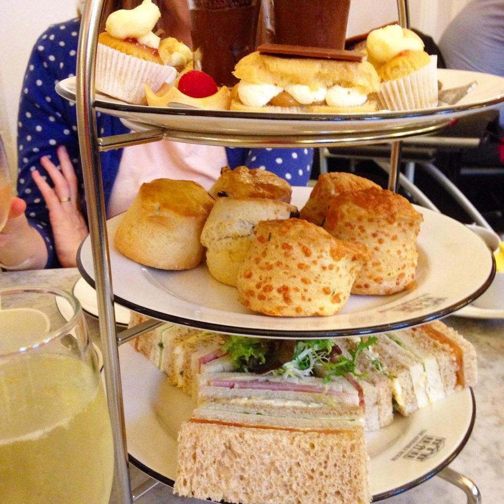 Afternoon tea at the Assembly House, Norwich