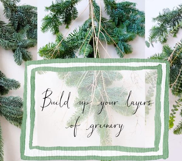 Gorgeous greenery: a quick and easy display for your door this Christmas