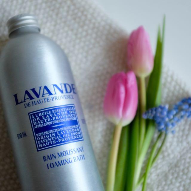 L'Occitane lavender bath