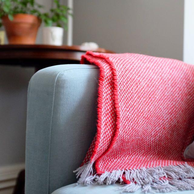 National Trust wool blanket