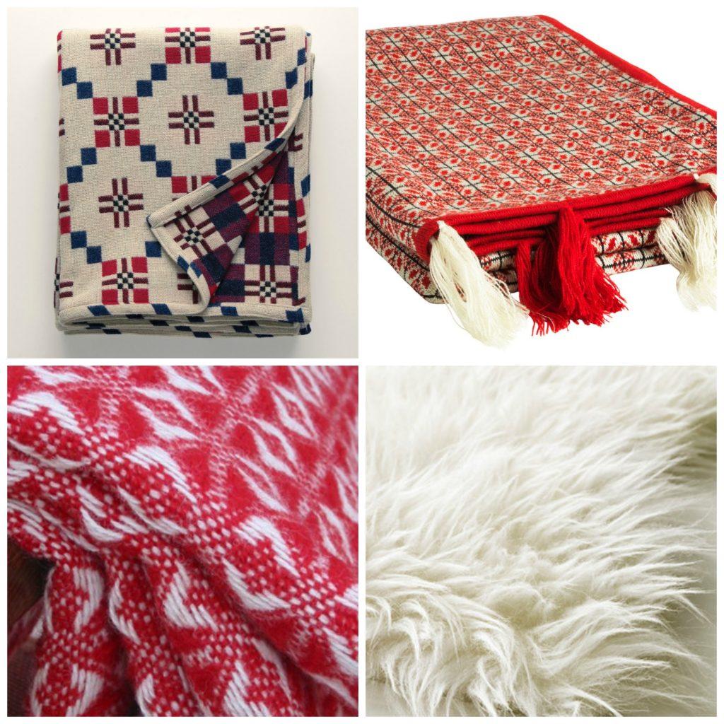 Welsh blankets and sheepskin