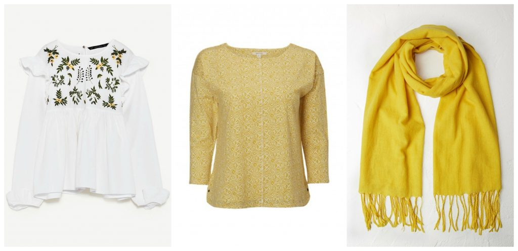Wear a hint of yellow