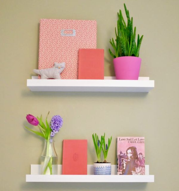 Get creative with IKEA picture ledges