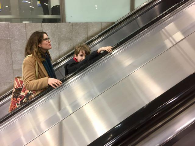 London Underground Kings Cross escalator