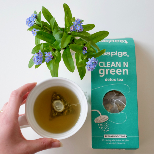 Teapigs clean n green tea