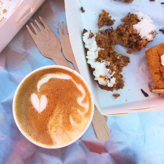 Silveroak Coffee on Ely market