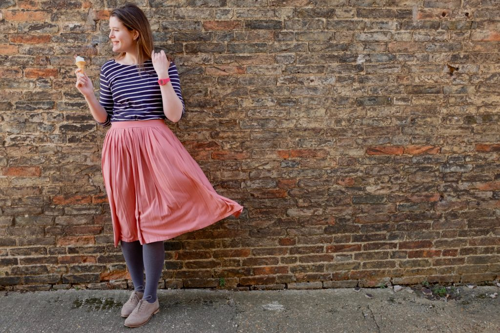 9eb673da9f The pink pleated skirt of dreams