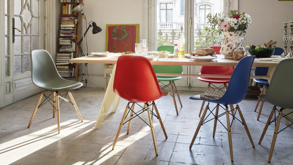 Eames chairs by Vitra