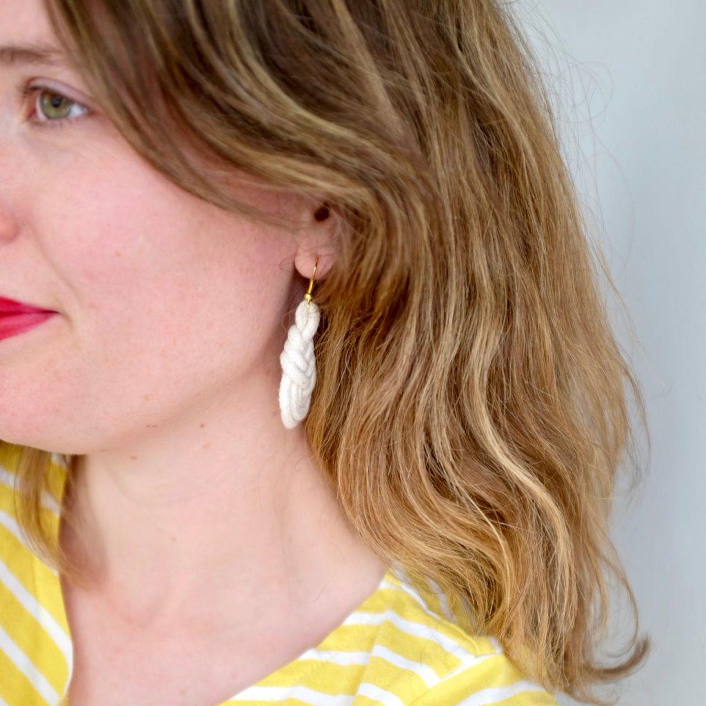 Statement summer earrings