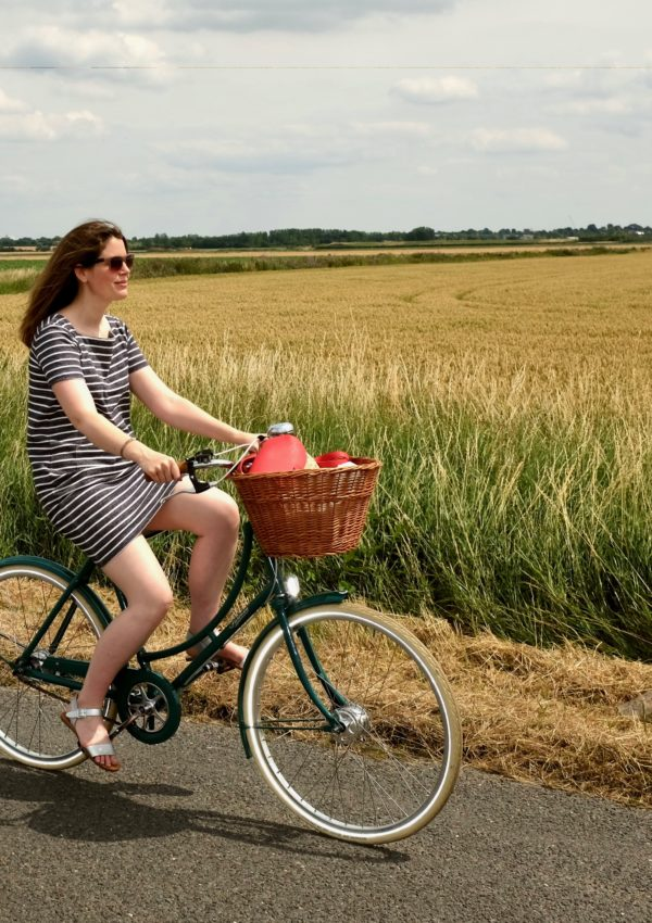 My guide to cycling, with Joanie clothing