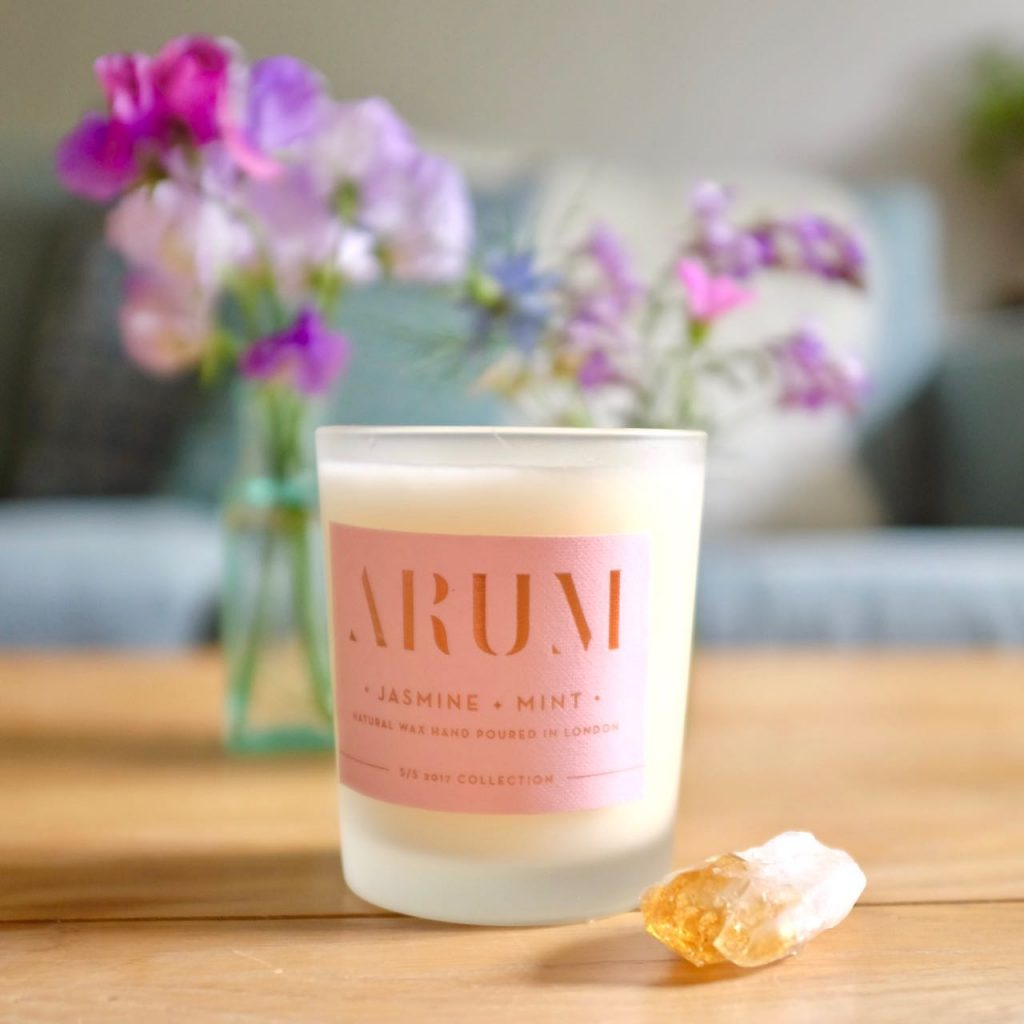Arum London Jasmine and Mint candle
