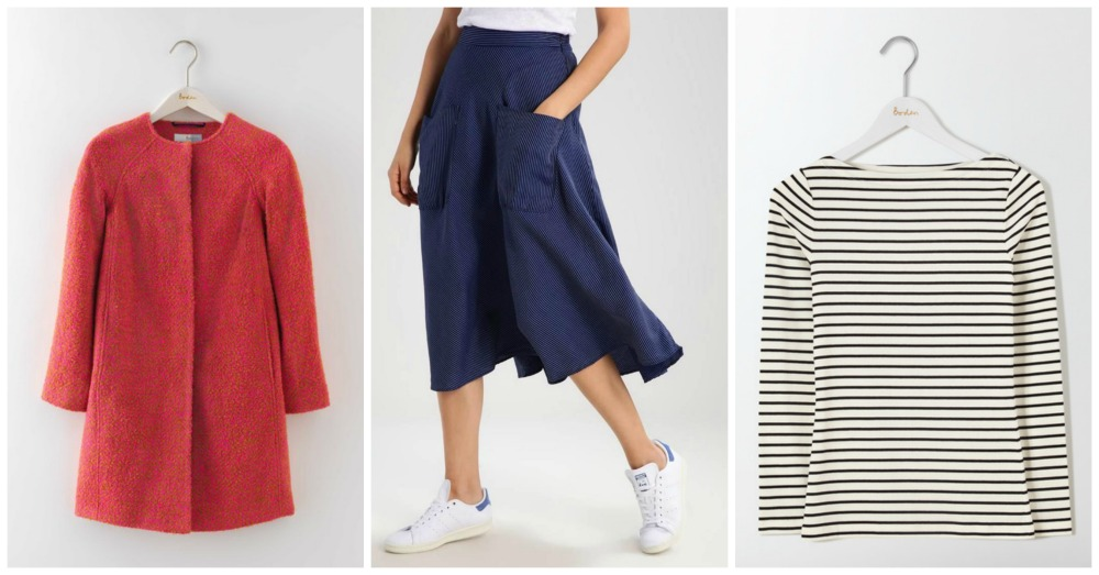 Autumn clothes from the summer sales