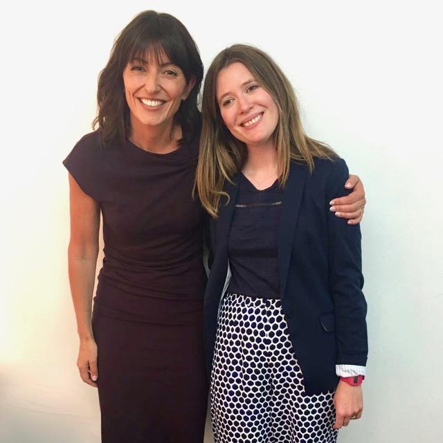 Davina McCall and Lizzie Woodman