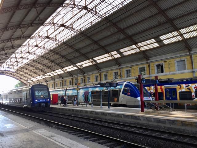 Avignon central railway station