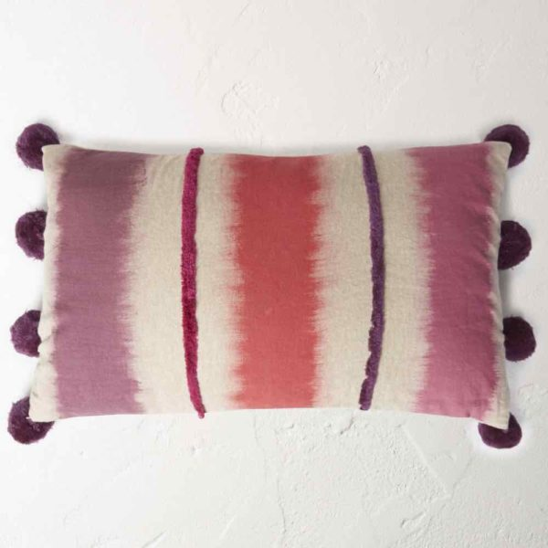 Plum cushion by White Stuff