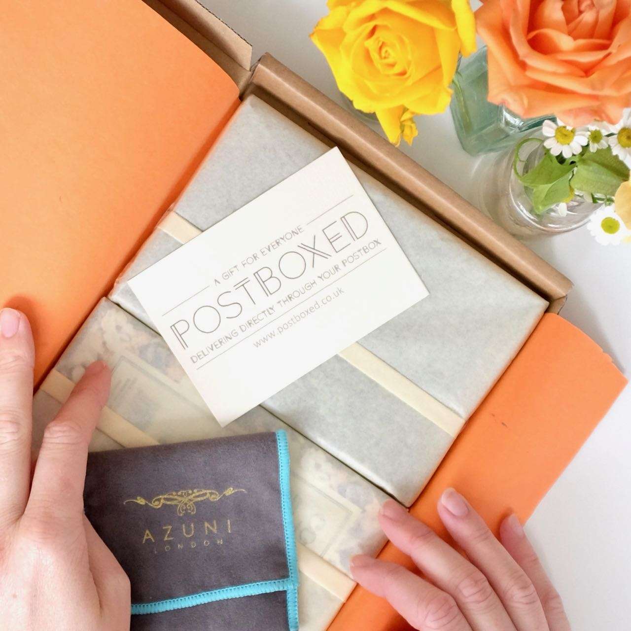 Postboxed signature gift box for women