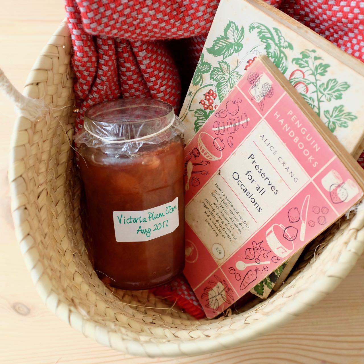 Enjoy homemade jam