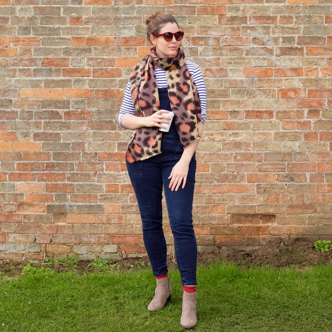 Leopard print scarf by New Look